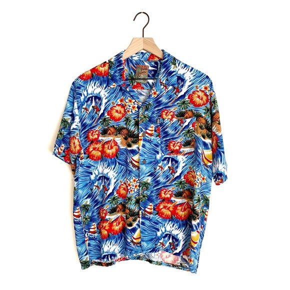 Pineapple Connection Other - Pineapple Connection   Vintage Hawaiian Surf Shirt
